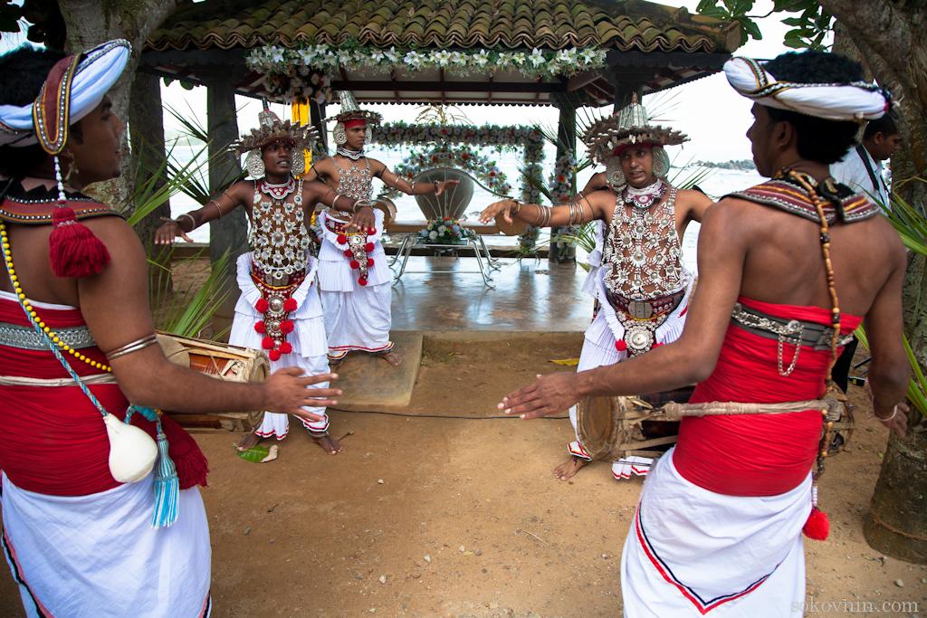 Традиционный ланкийский свадебный танец