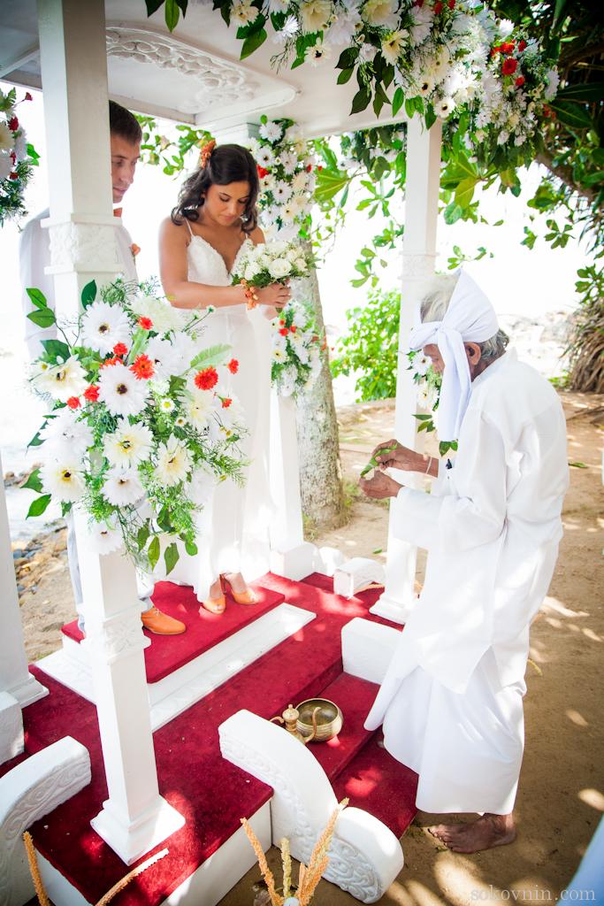 Начало свадебной церемонии