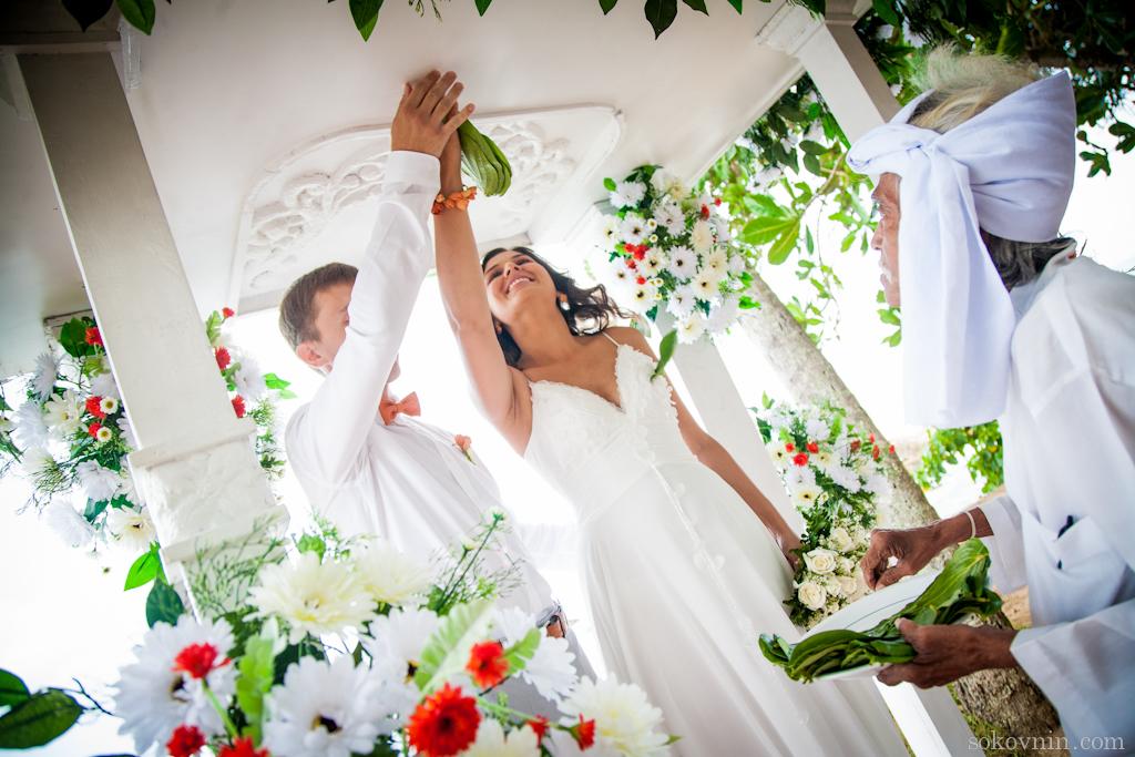 Ланкийская свадебная церемония