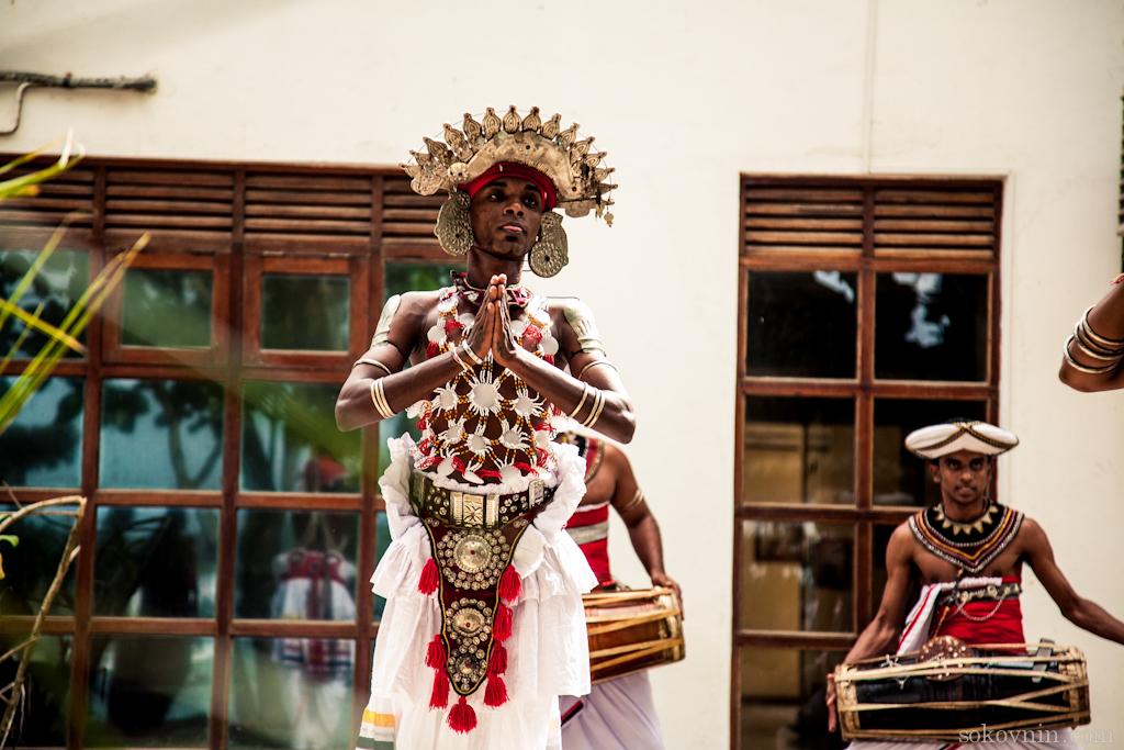 Шри-ланкийский танцор