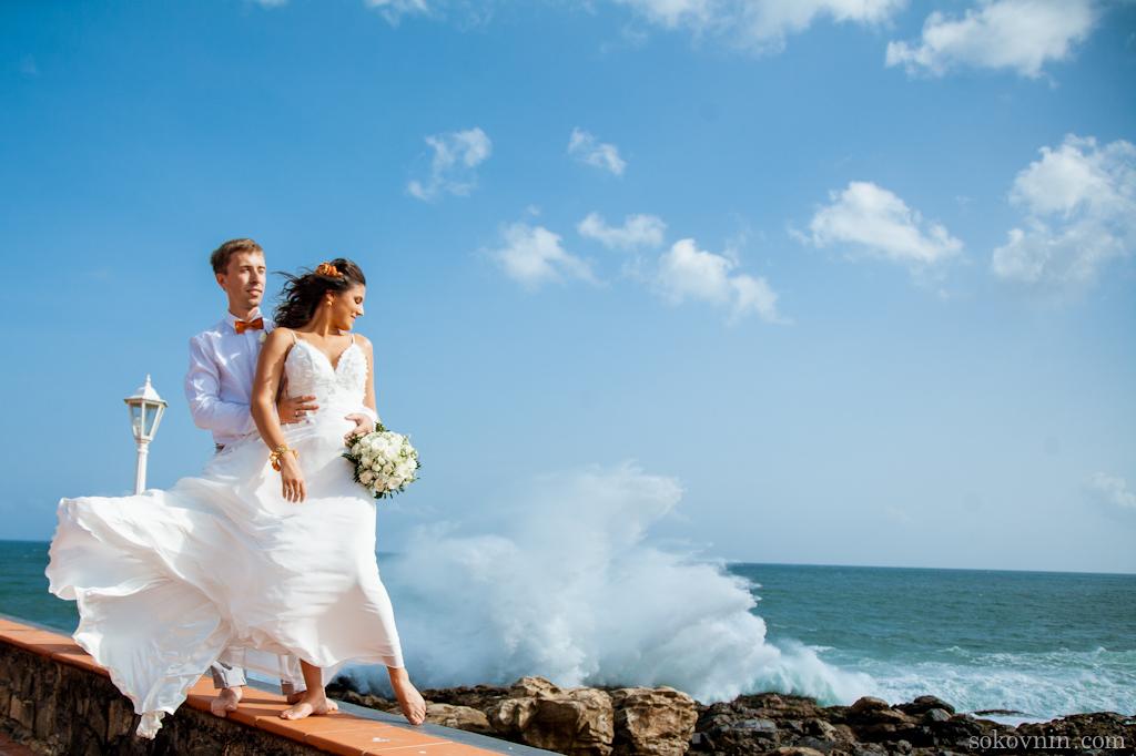 Наши Шри-Ланкийские свадебные фотографии