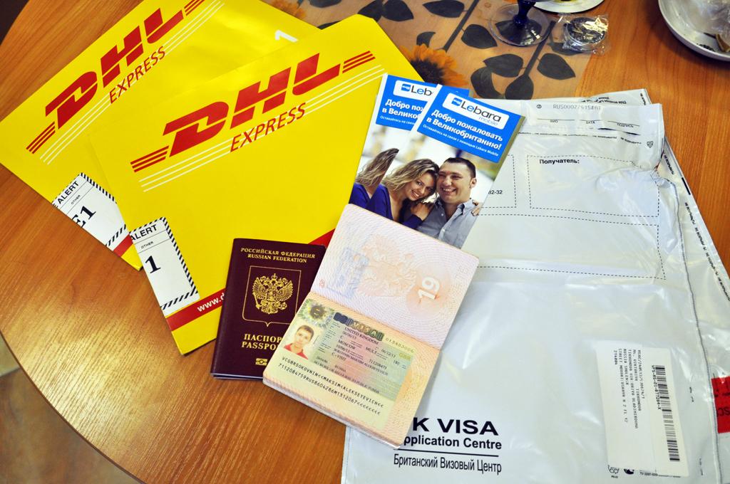 Нам дали визы в Великобританию