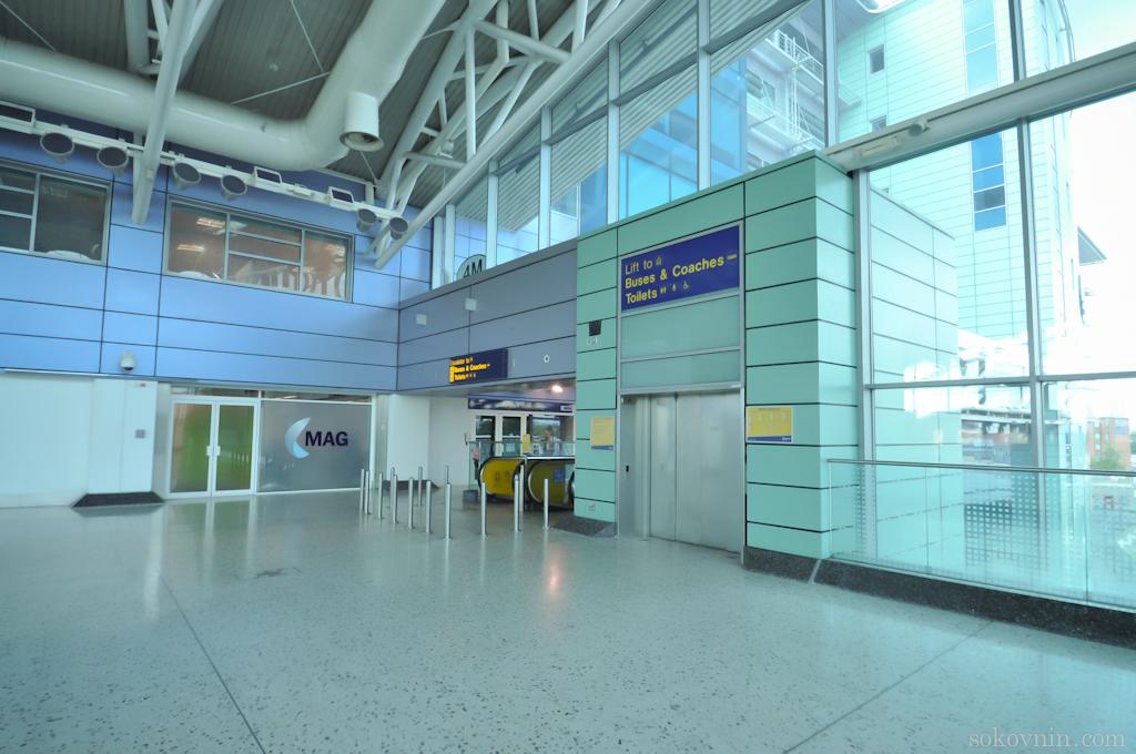 Аэропорт Манчестер