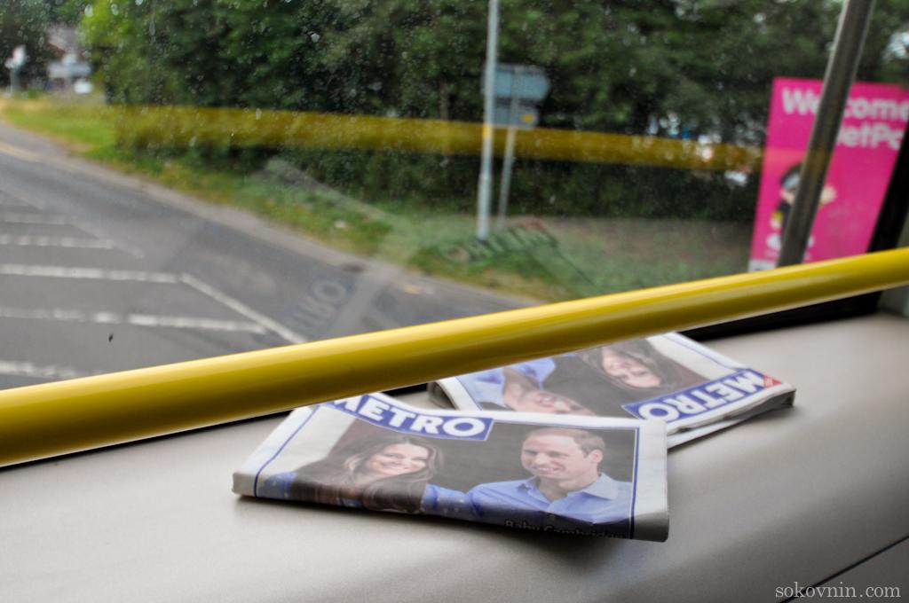 Автобус из аэропорта в Манчестер