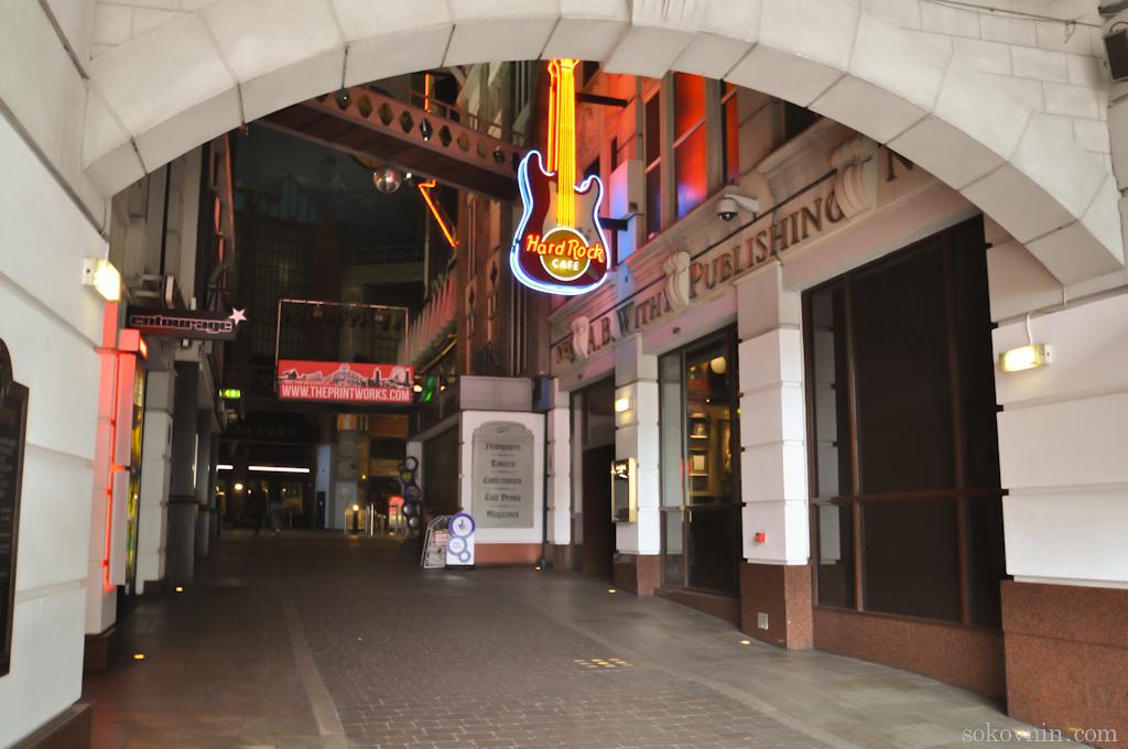 Хардрок кафе в Манчестере