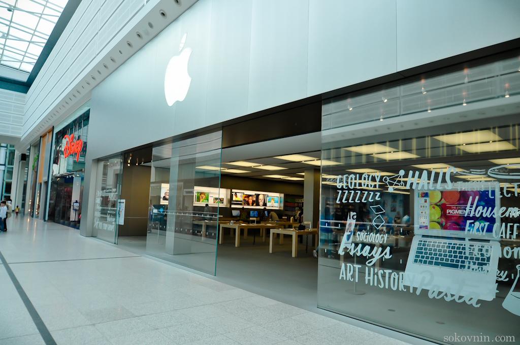Магазин Apple в Манчестере