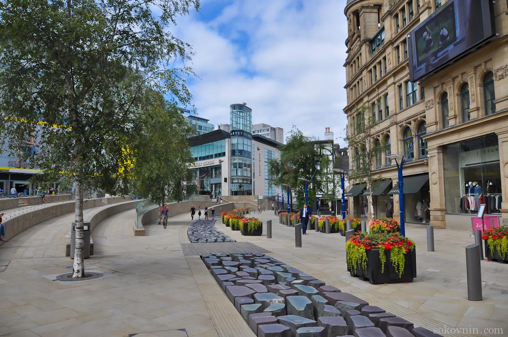 Цветы в Манчестере