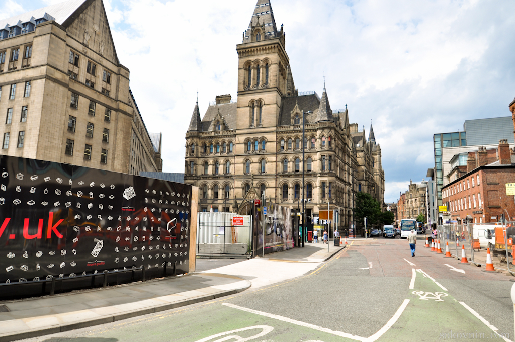 Улицы Манчестера