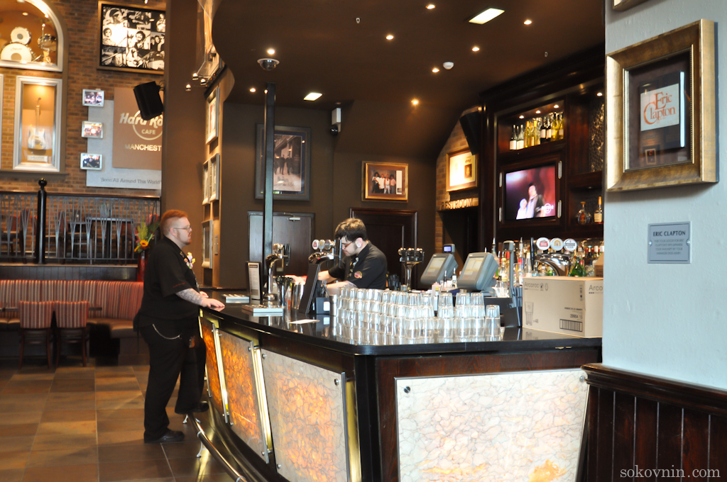 Бар в Хардрок кафе