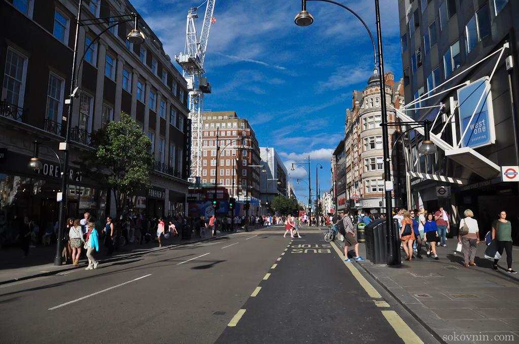 Прогулка по улицам Лондона