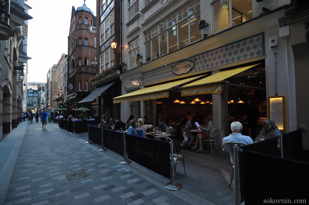 Кафе в Лондоне