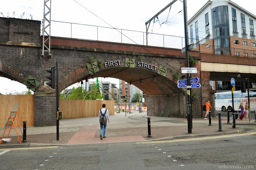 Первая улица в Манчестере