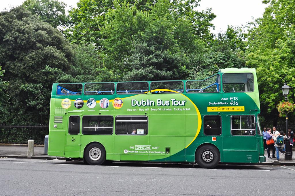Bus Tour в Дублине