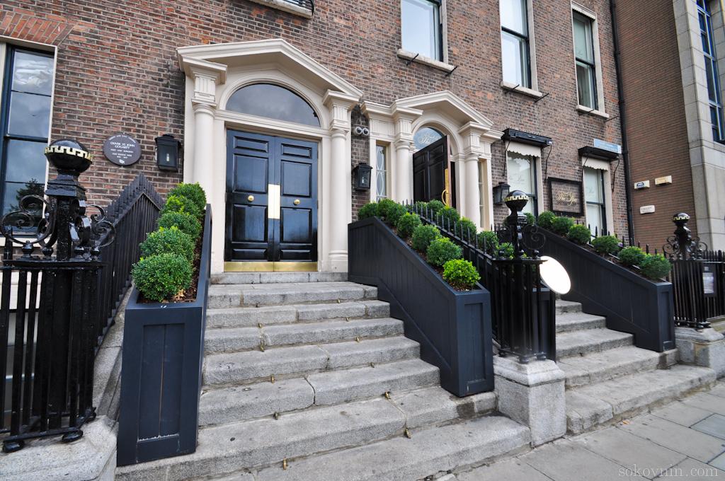 В Ирландии красивые фасады домов
