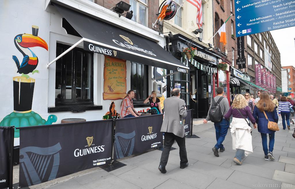 Пиво Гиннесс в пабах Ирландии