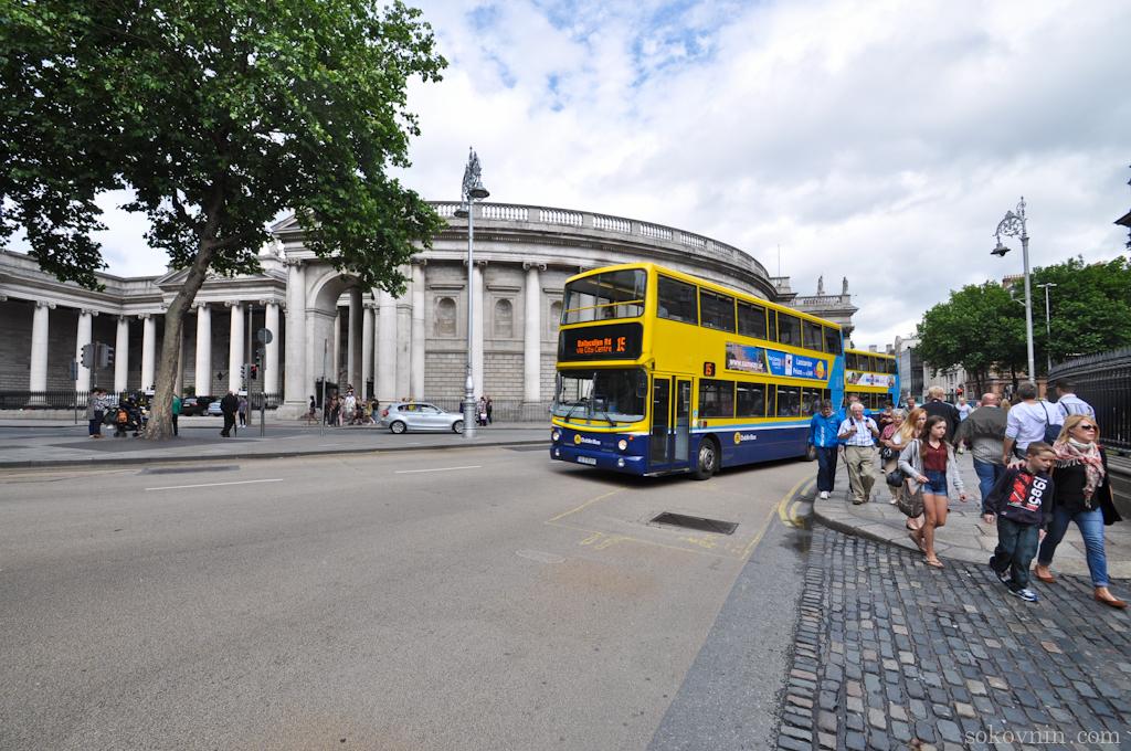 Городские автобусы в Дублине