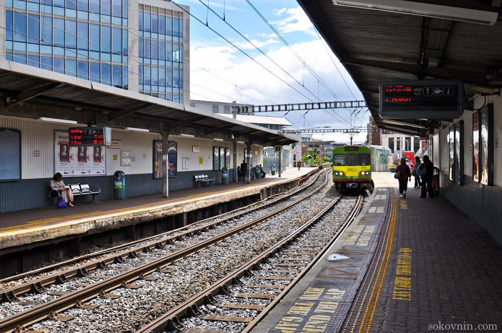 Вокзал в Дублине
