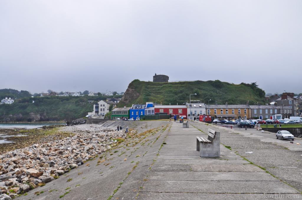 Прибрежный город Howth рядом с Дублином