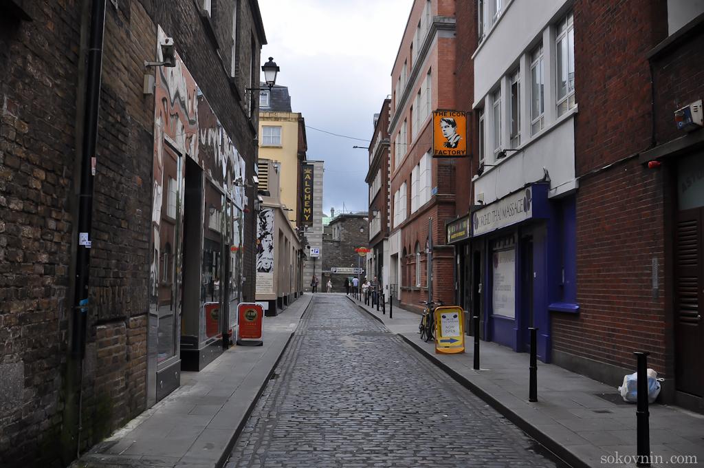 Старая улица Дублина