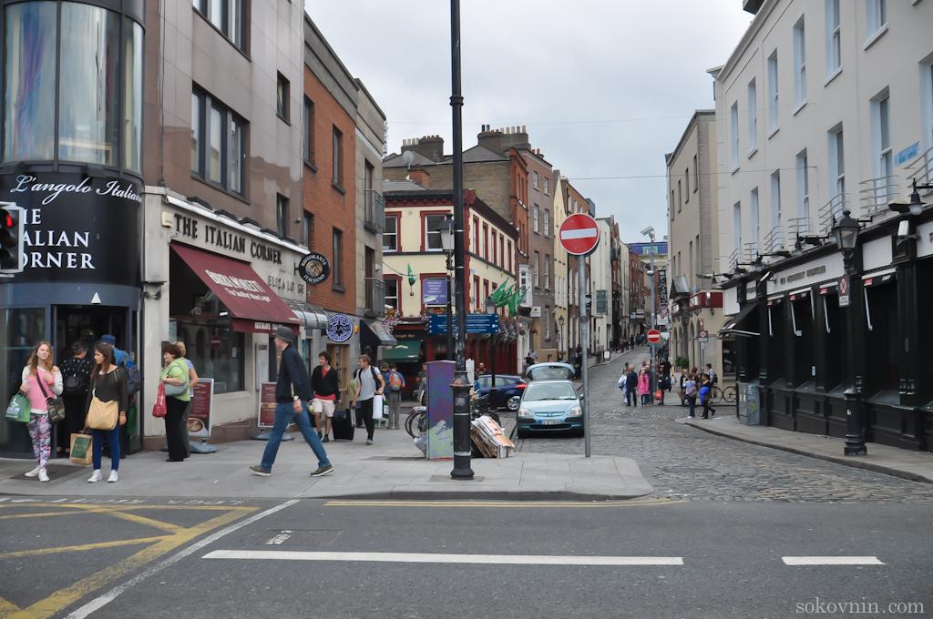 Прогулка по улицам Дублина