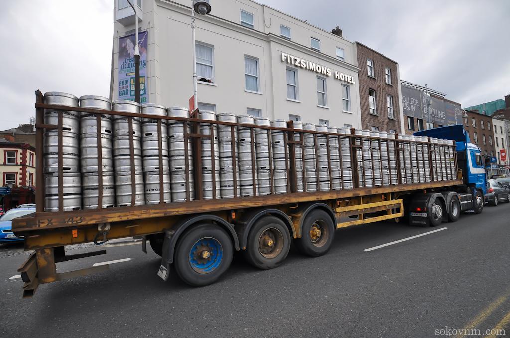 Пиво в Дублине