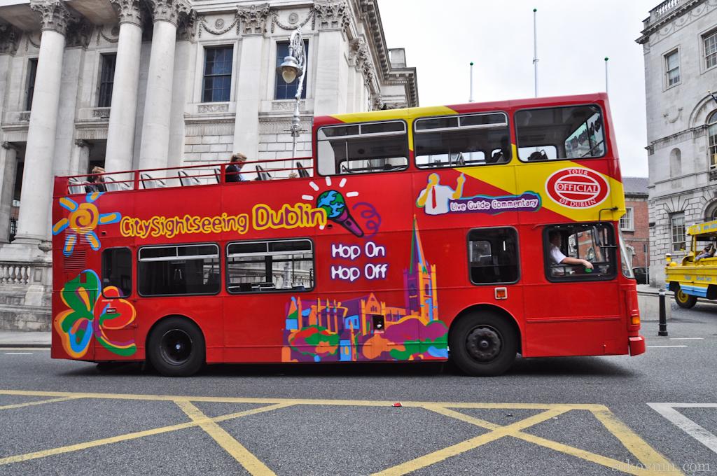 Экскурсии на двухэтажном автобусе по Дублину
