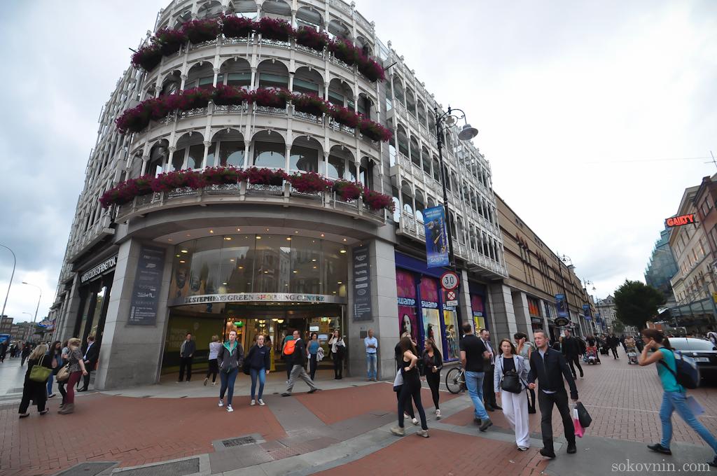 Торговый центр в Дублине