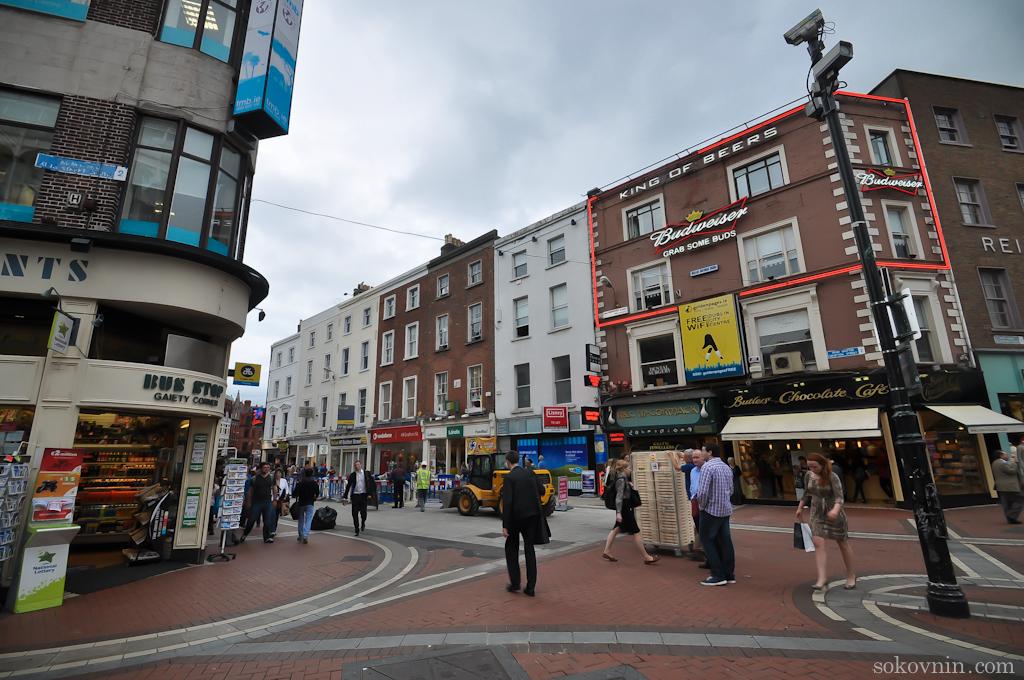 Прогулка по Дублину