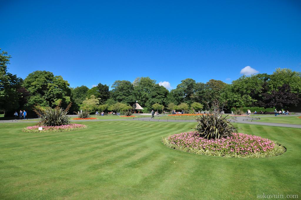 Зелёные парки в Дублине