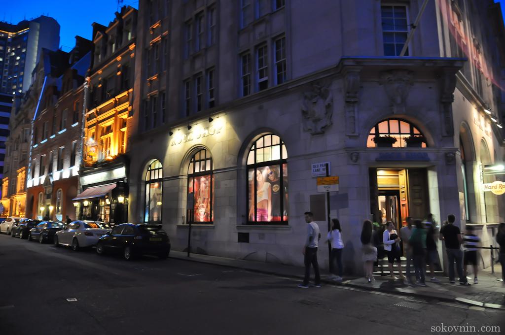 Рок магазин в Лондоне