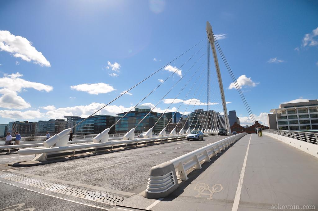 Мост через реку Лиффи