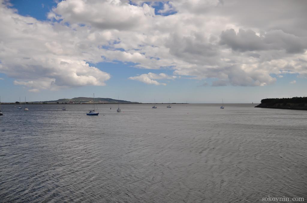 Дублинский залив Ирландского моря