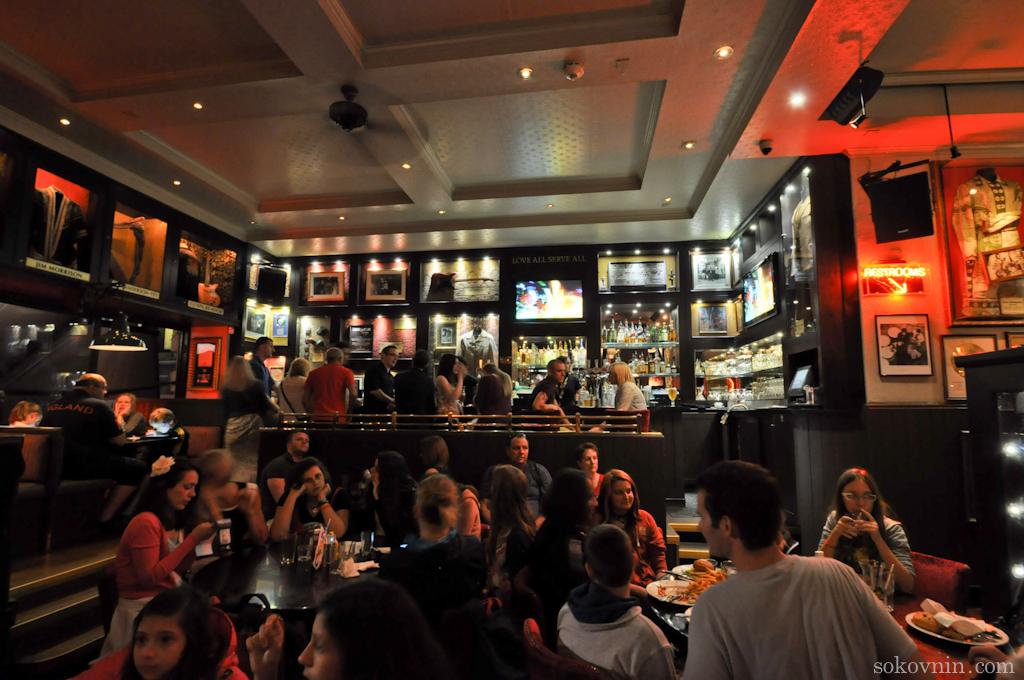 Первое ХардРок кафе в Лондоне