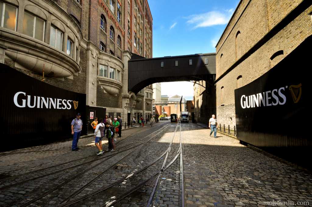 Музей пива Гиннесс. Guinness Storehouse.