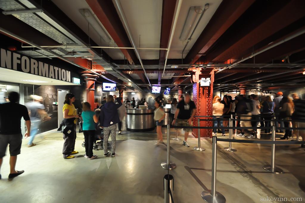 Вход в музей Гиннесс
