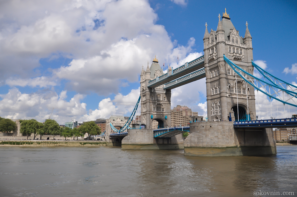 Самый известный мост Tower Bridge