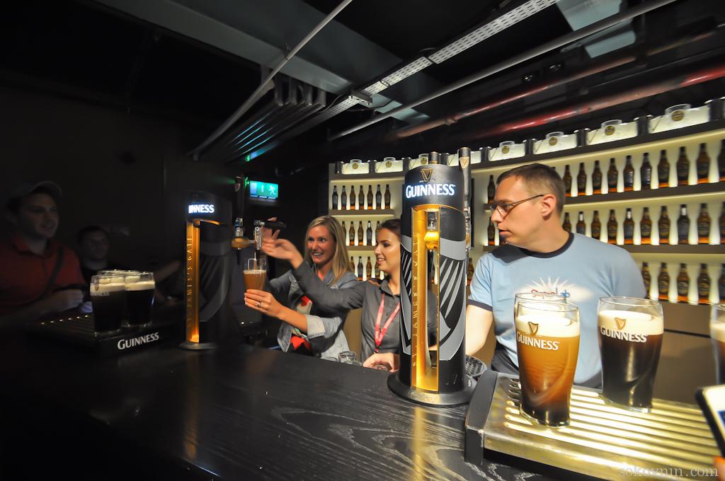 А вы знаете как правильно наливать пиво Гиннесс?