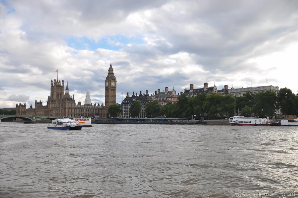 Тур по Темзе