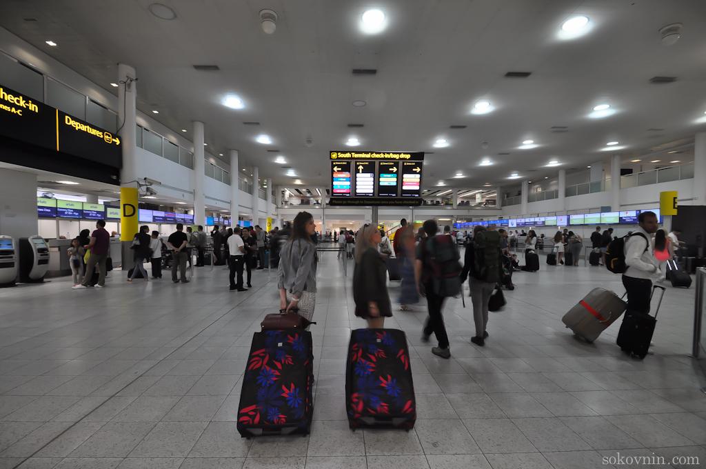 Аэропорт Gatwick