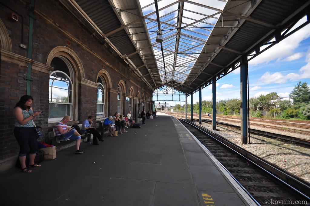 Вокзал в Честере