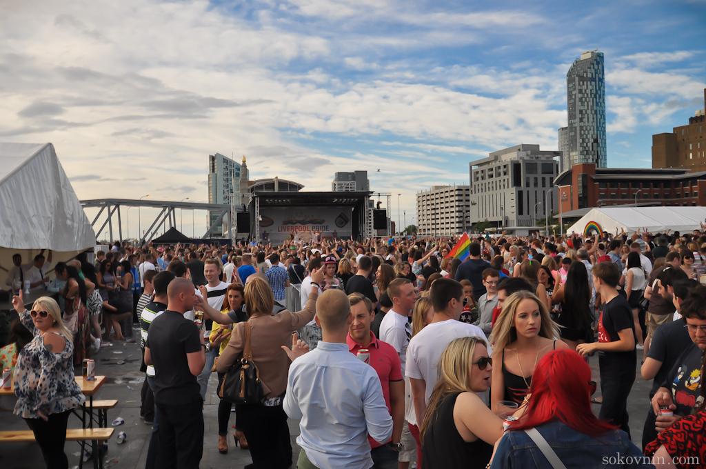 Фестиваль в Ливерпуле