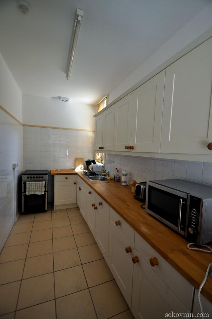 Кухня в гестхаусе
