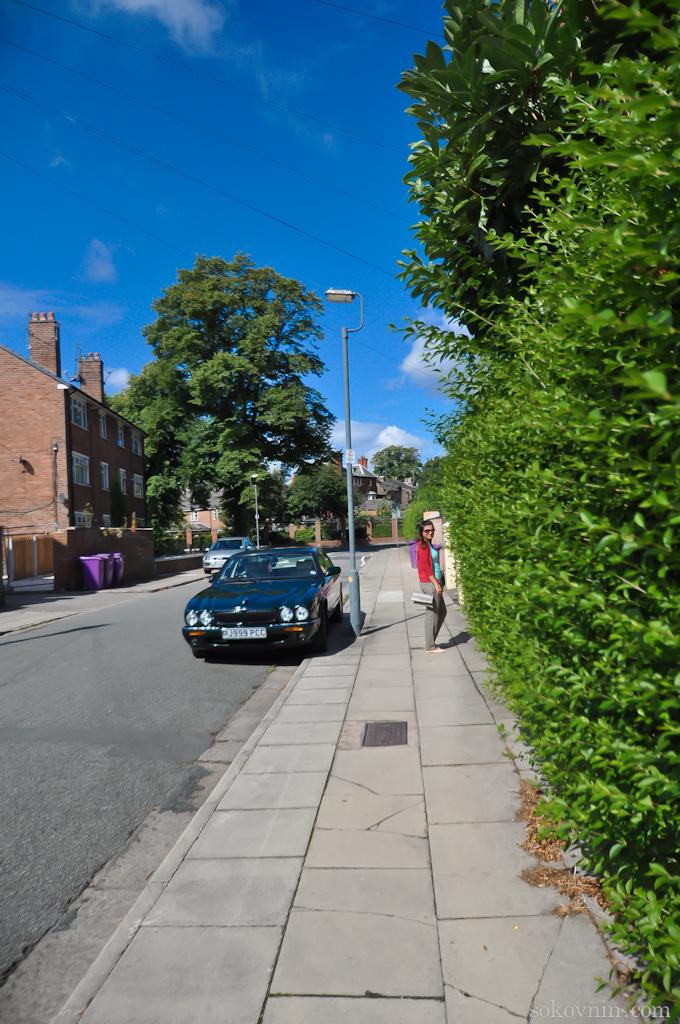 Улица в Ливерпуле