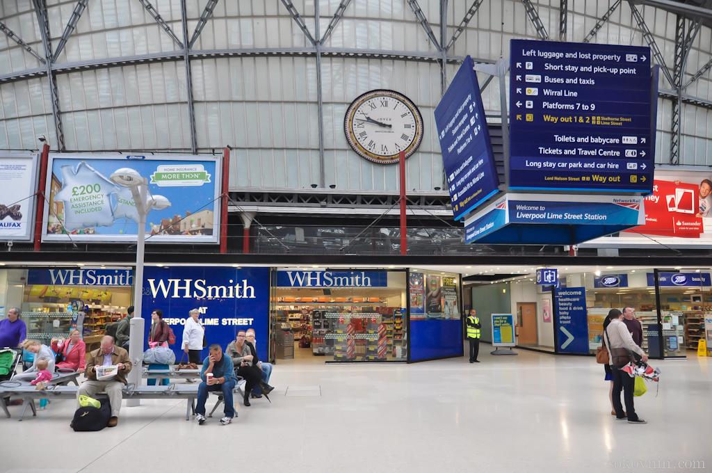 Вокзал в Ливерпуле