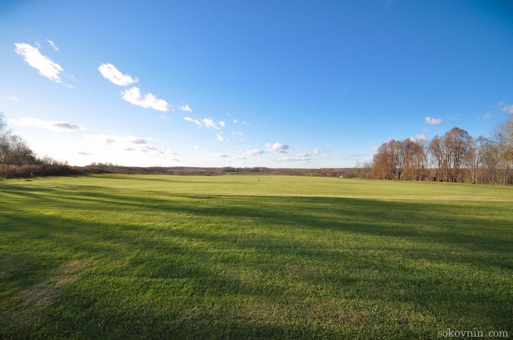Профессиональное гольф поле