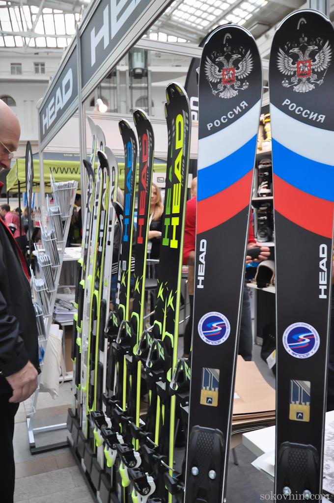 Продажа лыж на лыжном салоне?