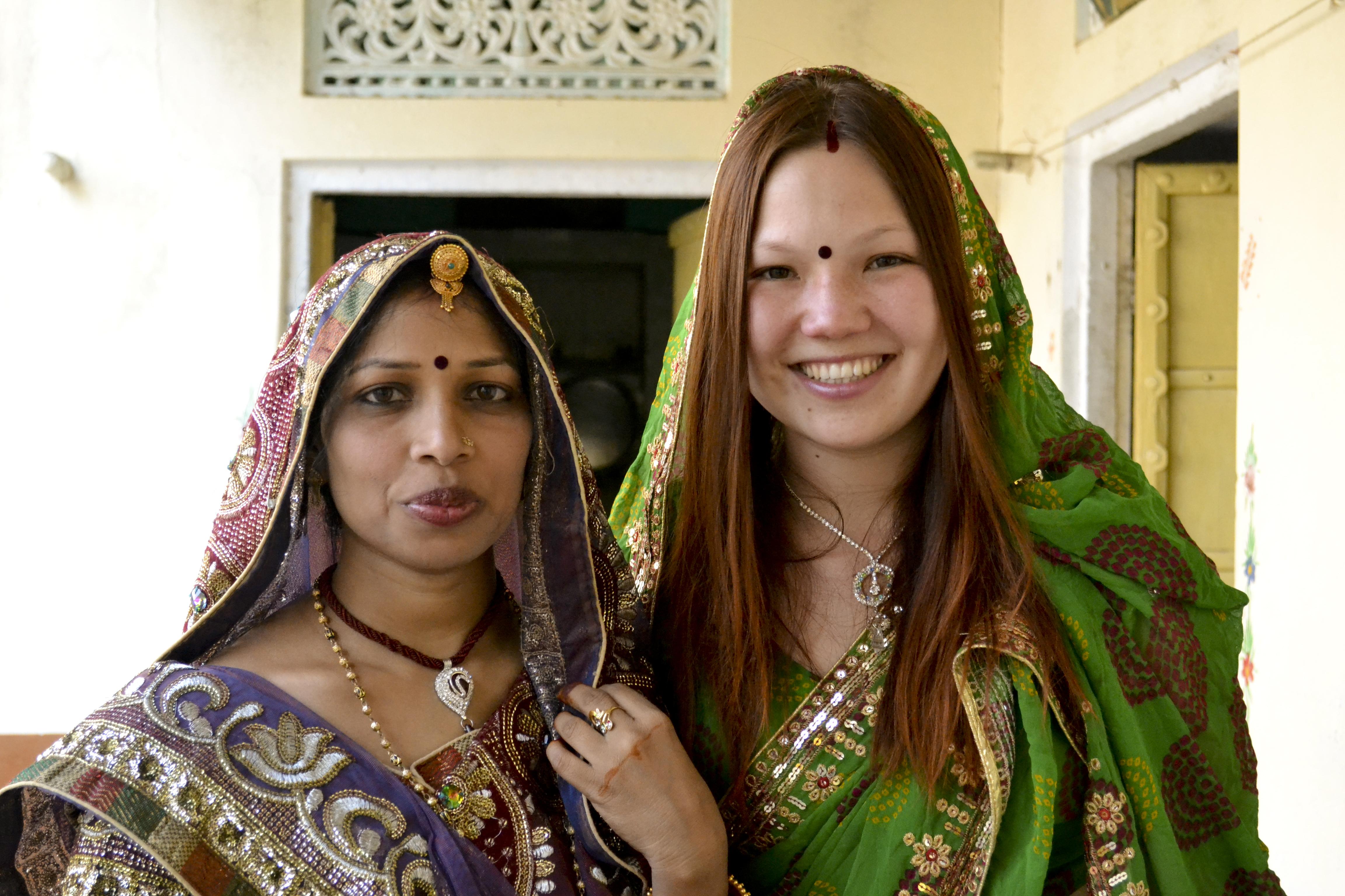 Ксения Лобачевская в Индии
