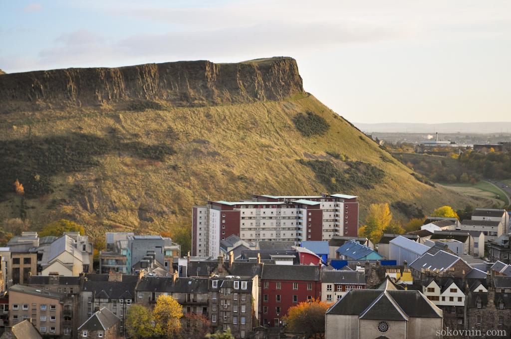 Скалы Солсбери рядом с Эдинбургом