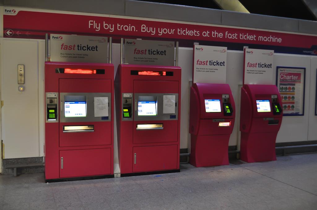 Автоматы для получения билетов