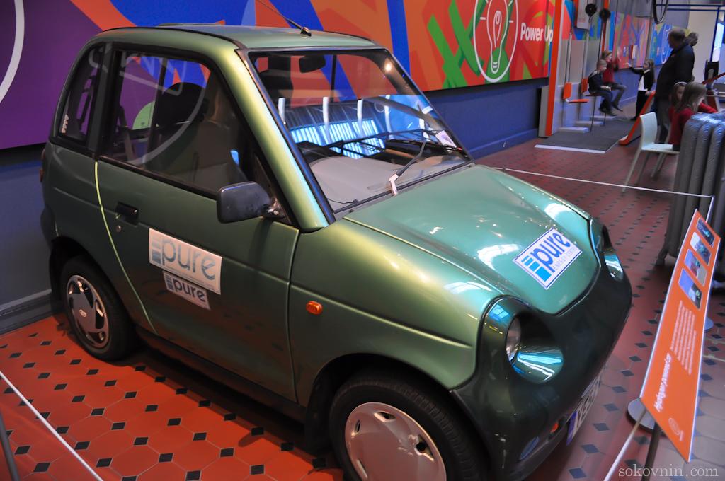 Машины в музее Шотландии